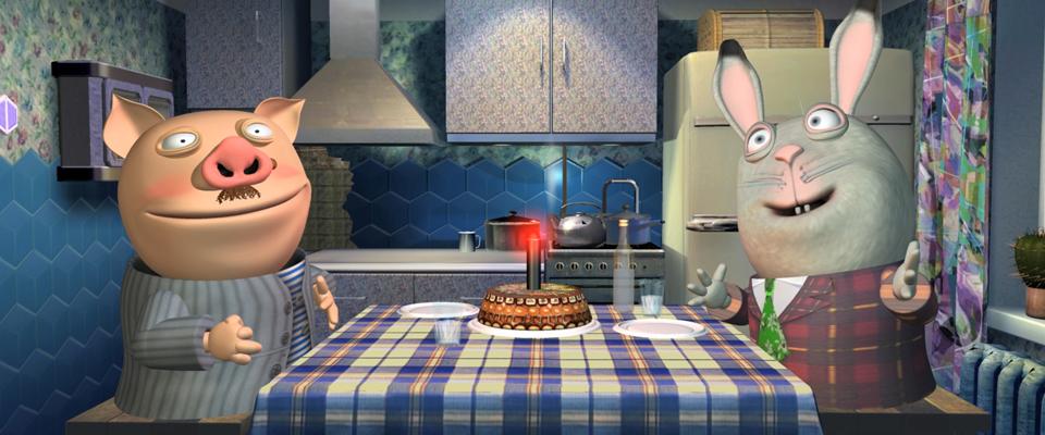 Хрюн Степан на кухне